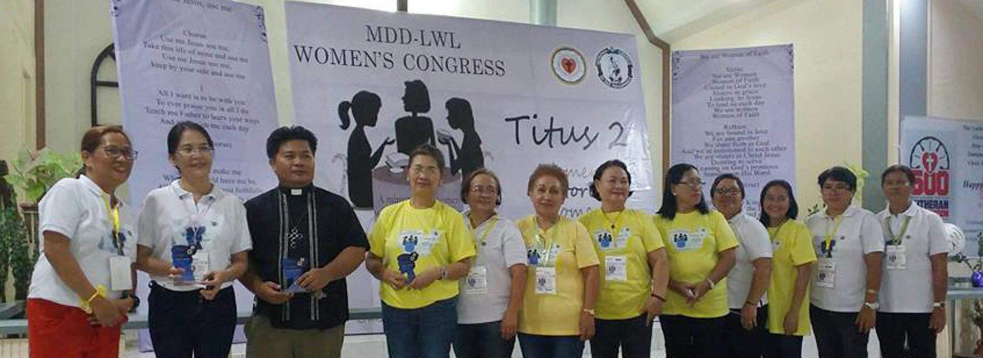 Revitalizing the Women's: MDD-LWL Women's Congress